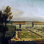 Bernardo Bellotto -- Schönbrunn Palace in Vienna, as Seen from the Gardens, Kunsthistorisches Museum