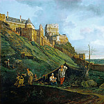 Bernardo Bellotto -- Ruins of Theben an der March, Austria, Kunsthistorisches Museum