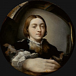 Parmigianino -- Self-portrait in a convex mirror, Kunsthistorisches Museum