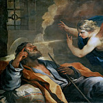 Kunsthistorisches Museum - Luca Giordano (1634-1705) -- Dream of Saint Joseph