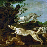Kunsthistorisches Museum - Paul de Vos -- Boar-hunt