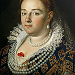 Kunsthistorisches Museum - Scipione Pulzone (before 1550-1598) -- Bianca Cappello, Grand Duchess of Tuscany (1548-1587)