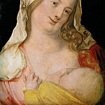Kunsthistorisches Museum - Albrecht Dürer -- Madonna Nursing the Child (The Virgin Suckling the Child)