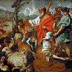 Giovanni Benedetto Castiglione -- Noah and the Animals, Kunsthistorisches Museum