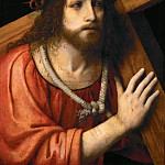 Bernardino Luini -- Christ carrying the Cross, Kunsthistorisches Museum