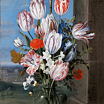 Kunsthistorisches Museum - Ambrosius Bosschaert the Younger (1609-1645) -- Still Life with Tulips