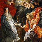 Peter Paul Rubens -- Annunciation, Kunsthistorisches Museum
