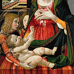 Bastiano Mainardi -- Madonna and Child, Kunsthistorisches Museum