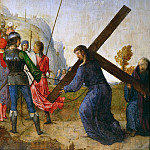 Kunsthistorisches Museum - Juan de Flandes (c. 1465-1519) -- Christ Carrying the Cross