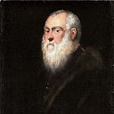 Jacopo Tintoretto -- Portrait of an Elderly Man with a White Beard, Kunsthistorisches Museum