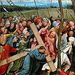Hieronymus Bosch -- Christ Carrying the Cross, Kunsthistorisches Museum