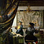 Jan Vermeer - The Art of Painting, Kunsthistorisches Museum