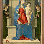 Kunsthistorisches Museum - Marco Zoppo -- Madonna witha Lily