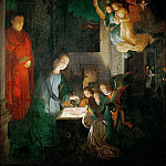 Michael Sittow -- Nativity, Kunsthistorisches Museum