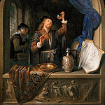 Gerrit Dou -- The Physician, Kunsthistorisches Museum
