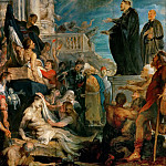 Kunsthistorisches Museum - Peter Paul Rubens -- Miracle of Saint Francis Xavier