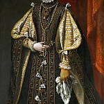 Kunsthistorisches Museum - lonso Sánchez Coello (c. 1531-1588) -- Archduchess Anna of Austria, Queen of Spain (1549-1580)