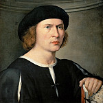 Kunsthistorisches Museum - Pordenone (1483 or 1484-1539) -- Portrait of a Musician
