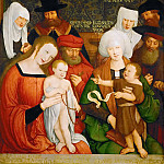 Bernhard Strigel -- The Holy Kinship, Kunsthistorisches Museum