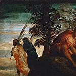 Jacopo Tintoretto -- The Prediction to David, Kunsthistorisches Museum