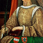 Hans Burgkmair the Elder -- Eleanor of Portugal, Kunsthistorisches Museum