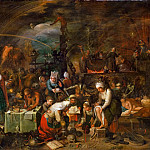 Frans Francken II -- Witches Assembly, Kunsthistorisches Museum
