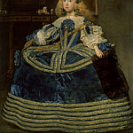 Diego Velázquez -- The Infanta Margarita Teresa in a Blue Dress, Kunsthistorisches Museum