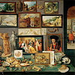 Frans Francken II -- An Art and Curio Collection, Kunsthistorisches Museum