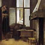 Jacobus Vrel -- Woman in a Window, Kunsthistorisches Museum