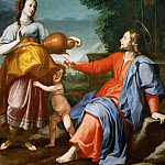 Kunsthistorisches Museum - Lorenzo Lippi -- Christ and the Samaritan woman at the well