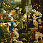 Kunsthistorisches Museum - Francesco Bassano II (1549-1592) -- Adoration of the Magi