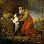 David Teniers II -- Abraham's Prayer of Thanks, Kunsthistorisches Museum
