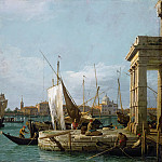 Canaletto -- The Dogana in Venice, Kunsthistorisches Museum
