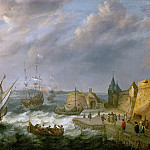 Kunsthistorisches Museum - Adam Willaerts -- Seaport