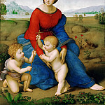Raphael -- Madonna of the Meadow, Kunsthistorisches Museum