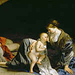 Kunsthistorisches Museum - Orazio Gentileschi -- Rest on the Flight into Egypt
