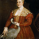 Kunsthistorisches Museum - Paolo Veronese -- Portrait of a Lady with a Heron