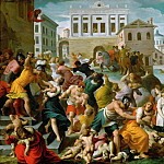 Kunsthistorisches Museum - Alessandro Turchi -- Massacre of the Innocents