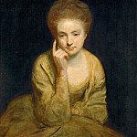 Joshua Reynolds -- Portrait of a Young Lady, Kunsthistorisches Museum