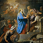 The Visitation, Luca Giordano