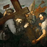 Kunsthistorisches Museum - Jusepe de Ribera -- Christ Carrying the Cross