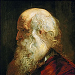 Peter Paul Rubens -- Study of an Old Man, Kunsthistorisches Museum