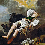 Domenico Fetti -- Jacob's Dream, Kunsthistorisches Museum