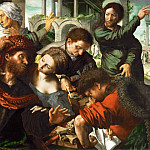 Jan van Hemessen -- Saint Matthew Called to Join the Apostles , Kunsthistorisches Museum
