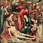 Kunsthistorisches Museum - Master of the Vienna Lamentation -- Lamentation