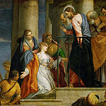 Paolo Veronese -- Raising of the Youth of Nain, Kunsthistorisches Museum