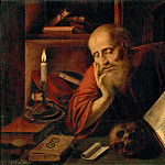 Jan Massys -- Saint Jerome, Kunsthistorisches Museum
