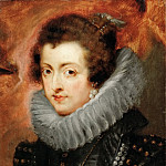 Kunsthistorisches Museum - Peter Paul Rubens -- Elizabeth, of France, Queen, consort of Philip IV, King of Spain