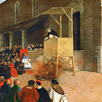 Sermon of Saint Dominic in Rencanati, Lorenzo Lotto