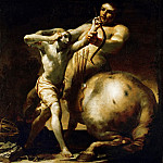Kunsthistorisches Museum - Giuseppe Maria Crespi -- Centaur Chiron Teaches Young Achilles Archery